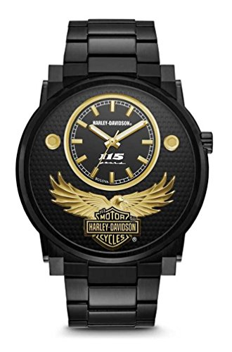 s 115th Anniversary Limited Edition Black Watch 78A119 (Sunray Medallion)