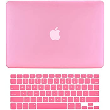 TOP CASE 2-in-1 Rubberized Hard Case + Keyboard Cover Compatible with  MacBook 4ea9bfac6b14