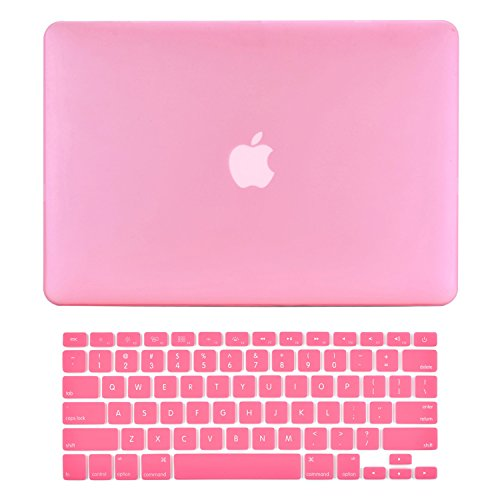 "UPC 608819988078, TopCase® 2 in 1 Ultra Slim Light Weight Rubberized Hard Case Cover and Keyboard Cover for Macbook Pro 13-inch 13"" (A1278/with or without Thunderbolt) with TopCase® Mouse Pad (Macbook Pro 13"" A1278, Pink)"