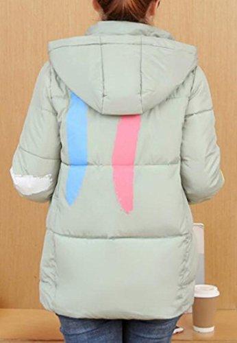 Jacket Light Short Green Coat Light Hooded Jacket Weight Down Womens today UK Down 4wq0tTtP