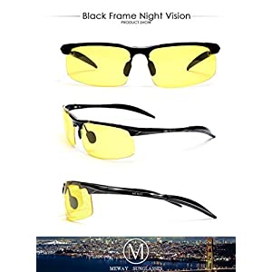 1e667fbb82 MEWAY Men s Fashion Driving Polarized Sunglasses for Men UV Protection Al-Mg  Metal Frame Ultra