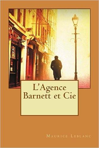L Agence Barnett Et Cie French Edition Maurice Leblanc