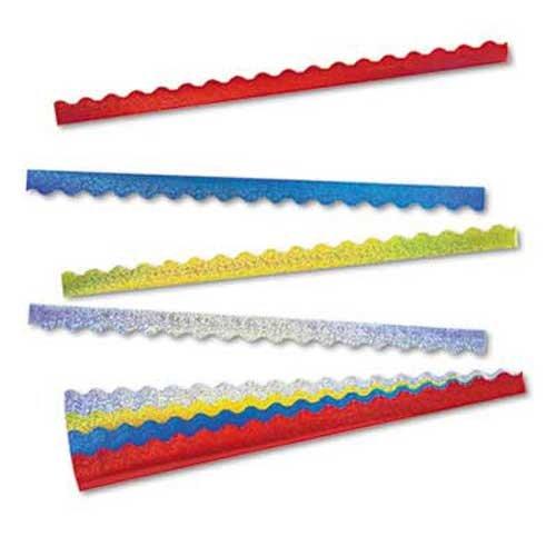TREND Terrific Trimmers Sparkle Border Variety Pack, 2 1/4 x 39 Panels, Asstd, - Trend Panel