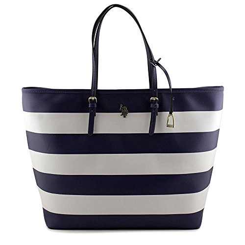 US Polo Assn Marin Tote Women Blue - Cheap Us Polo