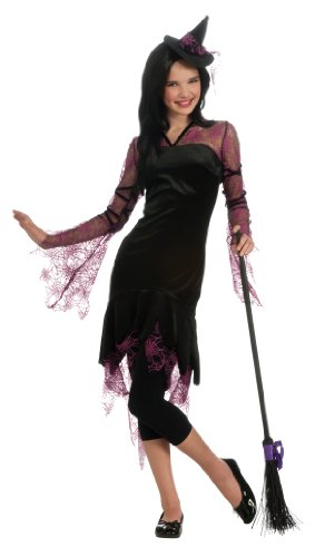 (Rubie's Teen Witch Costume, Black/Pink,)