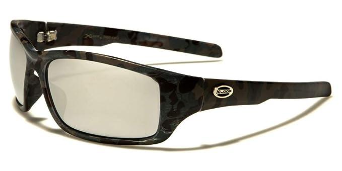 X-Loop Sportbrille Unisex Damen Herren Sonnenbrille Kunststoff Brillenbeutel