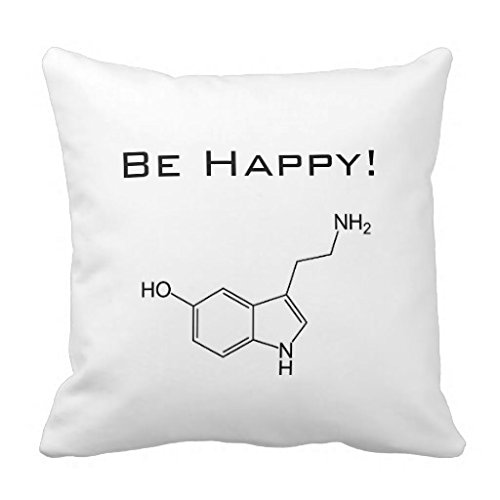 Be Happy Serotonin Rfb7782542f6740e8b5e920d18de31e6a I5fqz 8byvr Pillow Case