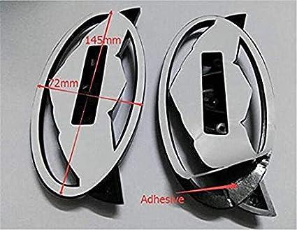 7pcs Reticulate 3D Genesis Wing Badge Emblem For Hyundai Genesis Coupe