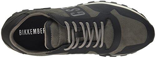 Grey Homme 400 Noir 944 Fend Bikkembergs Baskets ER Gris wqTRB0ax