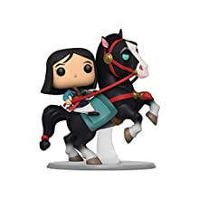 Funko- Pop Rides Mulan on Khan Collectible Toy, Multicolor (45324)