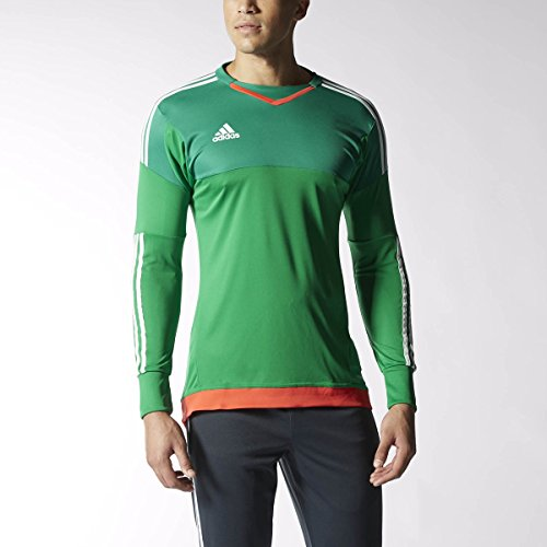 545c851ffc5 Adidas Top 15 Goalkeeper Mens Soccer Jersey M Green-White-Bright Red cheap