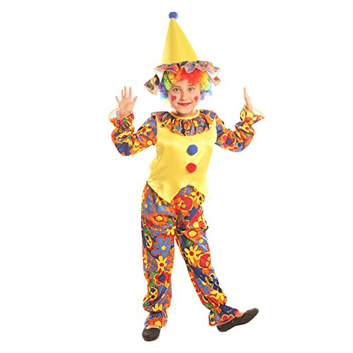 Disiao Big Top Clown Costume for Little Boys Halloween Party Cospaly Suits (S) for $<!--$16.99-->