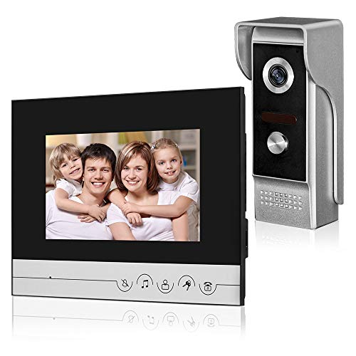 "LIBO 7"" Wired Color Video Door Phone Intercom System for sale  Delivered anywhere in Canada"