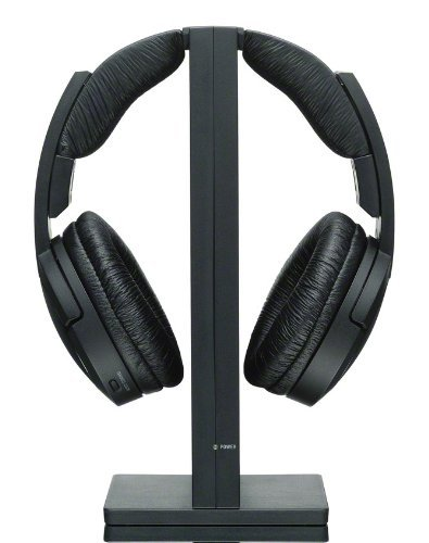 Sony MDRRF985RK Wireless RF Headphone, Black (Certified Refurbished)