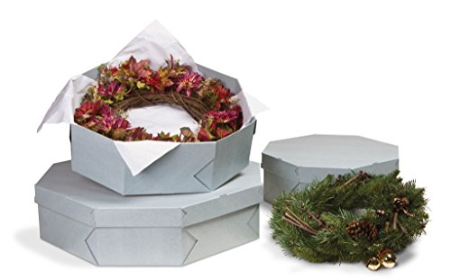 Archival Corrugated Box (Gaylord Archival Wreath Preservation Box)