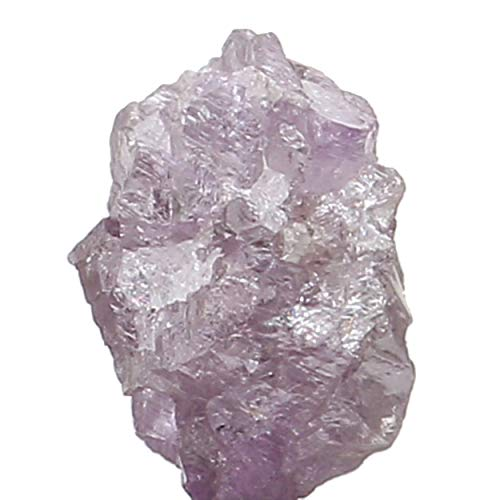 Natural Loose Diamond Rough Purple Pink Color I3 Clarity 5.20 MM 0.40 Ct L6491