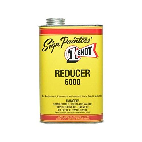 Enamel Reducer - 1-Shot 6002 High Temp Reducer Quart