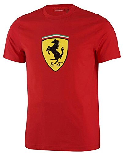 Ferrari Red Classic Shield Tee Shirt  Med