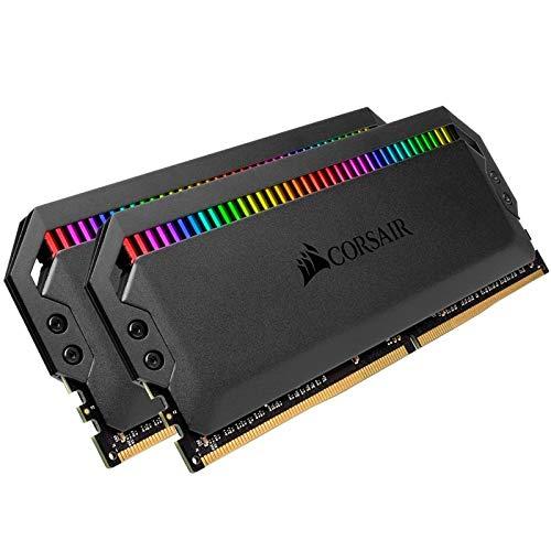 - Corsair Dominator Platinum RGB 32GB (2x16GB) DDR4 3466 (PC4-27700) C16 1.35V - Black