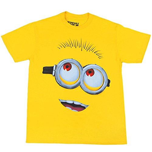 Animation Shops Minion Face Youth Kids T-Shirt-Youth Small [6/8] -