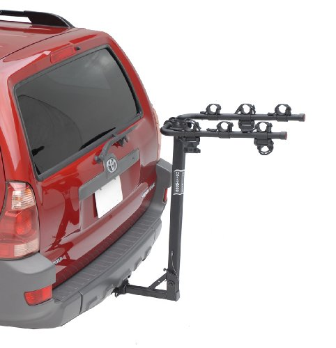 Traveler Hitch Rack - Hollywood Racks HR6100 Traveler 3-Bike Hitch Mount Rack (1.25-Inch Receiver)