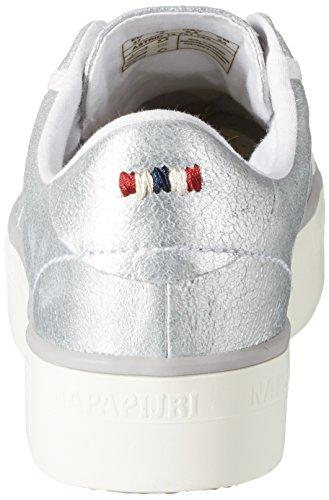 Donna Basse Napapijri silver Argento Astrid Sneaker Sg68q0