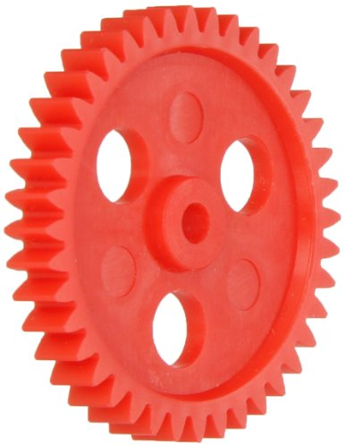 Ajax Scientific Plastic Gear with 40 Teeth (Pack of 10) (Assorted Plastic Gears)