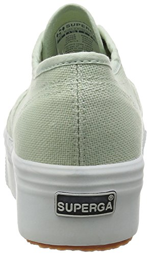 936 Superga Donna Sneaker Linea Down And Acotw Up 2790 Verde rqvwrCz