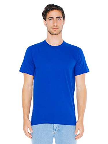 American Apparel  Unisex Fine Jersey Short Sleeve T-Shirt, Lapis, Medium (Best American Apparel Ads)