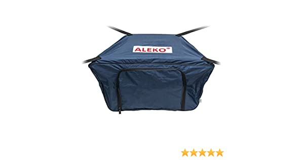 ALEKO Front Bow Storage Bag for 13.8 Foot Boats 34 x 19 Inches Red