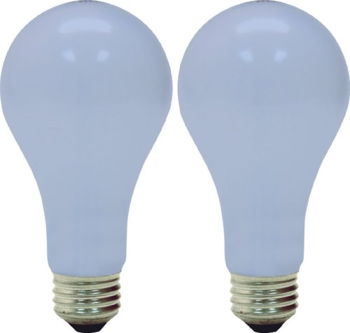 GE Lighting 97469 50/100/150-Watt 450/1150/1600-Lumen A21 3-Way Light Bulb, Frosted Reveal, 2-Pack