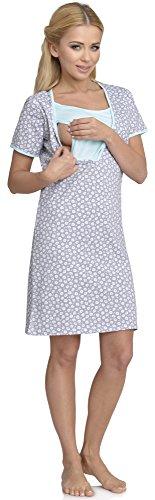 Be Mammy Lactancia Camisón para Mujer Linda Modelo-2