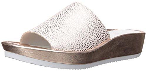 ara Women's Tania Slide Sandal, Rosegold Metallic, 40 M EU (9 US)