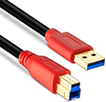 Amazon.com: Cable USB 3.0 para impresora Tan QY USB 3.0 ...
