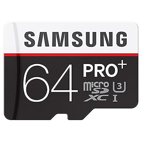 Amazon.com: Samsung Pro Plus 64 GB microSDXC tarjeta de ...
