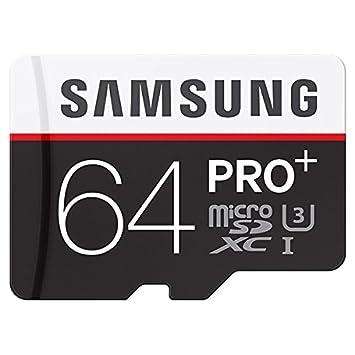 Amazon.com: Samsung 64 GB microSDXC tarjeta de memoria pro ...