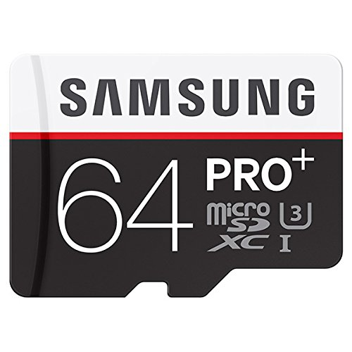 Samsung Pro Plus 64GB MicroSDXC Memory Card --- 95MB/s Read, 90MB/s Write