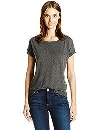 Women's Short Eco Gauze Drift Sleeve T-Shirt