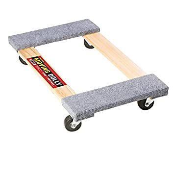 Amazoncom Four Wheeled Moving Dolly From Shoulder Dolly Heavy - Furniture dolly