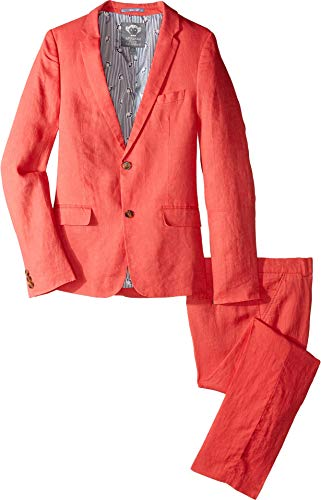 Appaman Kids Baby Boy's Mod Suit (Toddler/Little Kids/Big Kids) Poppy 8 -