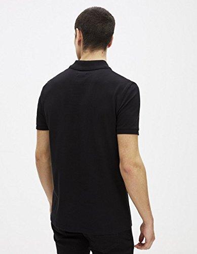 Homme Polo Geslim noir Celio Noir w6gZExnq