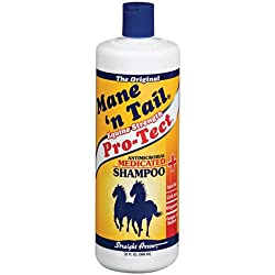 STRAIGHT ARROW PRODUCTS 544606 Medicated Shampoo for Horses, 32-Ounce