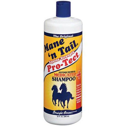 STRAIGHT ARROW PRODUCTS 544606 Medicated Shampoo for Horses, 32-Ounce (Rain Rot)