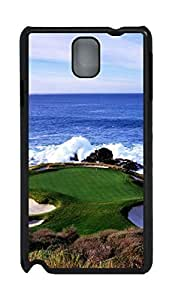 Fashion Style With Digital Art - Ocean Waves Skid PC Back Cover Case for Samsung Galaxy Note 3 N9000