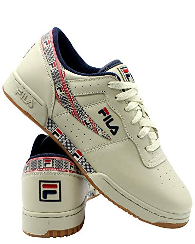 Original Fitness Sneaker - Fila Mens Original Fitness Haze Sneaker,Cream,8.5