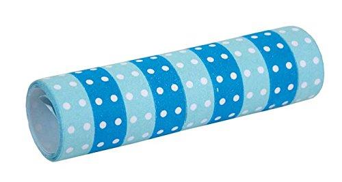 JaBaDaBaDo Party Luftschlangen Dots blau (2 Stück)