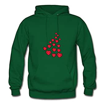 Lynsnyd Love Green Image X-large Hoodies Customized Women