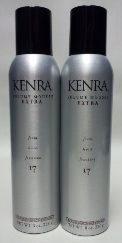 Kenra Volume Mousse Extra Firm Hold Fixative 17  2 Pack