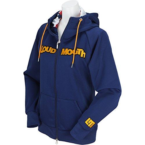 ブルゾン レディース ラウドマウス ゴルフ LOUDMOUTH GOLF 日本正規品 日本規格 2018 春夏 ゴルフウェア LL(LL) ネイビー(997) 768-451
