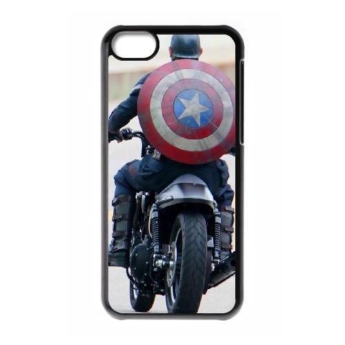 Avengers Age Of Ultron coque iPhone 5C Housse téléphone Noir de couverture de cas coque EBDOBCKCO12119